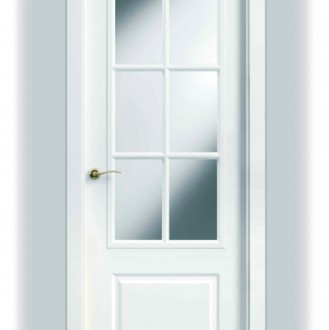 Puerta lacada en blanco SanRafael 9270AR