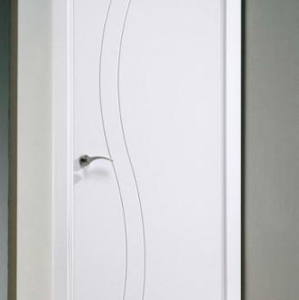 Puerta lacada en blanco Fantastic 01