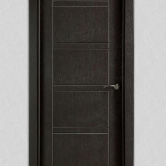 Puerta laminada en PVC Pantografic 08