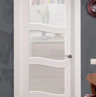 Puerta lacada en blanco Fantastic 04 Vidreira VS