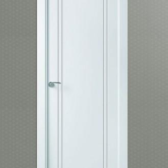 Puerta lacada en blanco Pantografic L-600