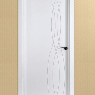 Puerta lacada en blanco Fantastic 02