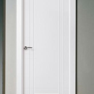 Puerta lacada en blanco Pantografic ML-2C