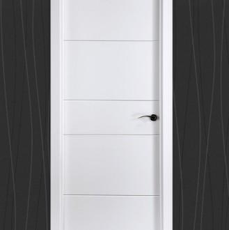 Puerta lacada en blanco Pantografic 03