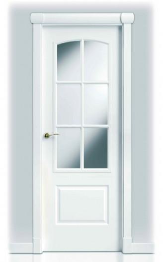 Puerta lacada en blanco sanrafael 9270ar for Puertas dm lacadas en blanco