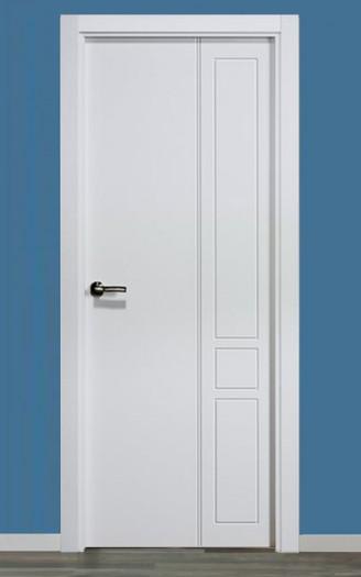 Puerta lacada en blanco Pantografic 12