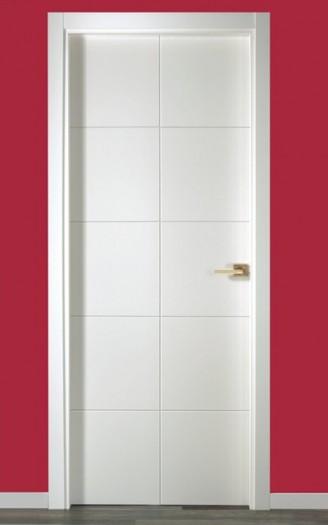 Puerta lacada en blanco serie Pantografic 15