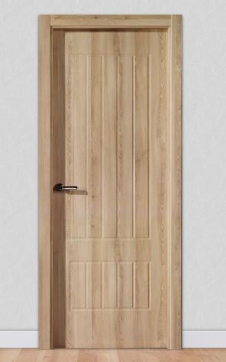 Puerta laminada en PVC Serie Classic 06 en Crema