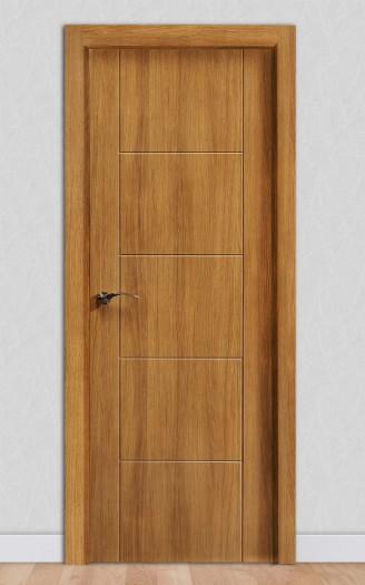 Puerta laminada en PVC Pantografic 04