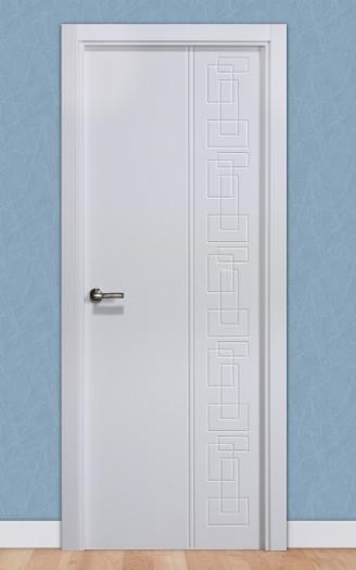 Puerta laminada en PVC Pantografic 18