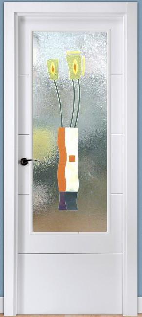 Cristal decorado con Fusing Perfilado Ref 911