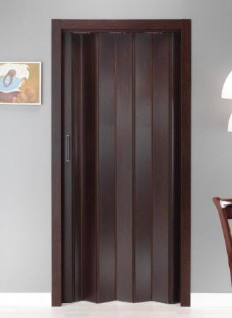 Puerta plegable serie melamina modelo Nápoles