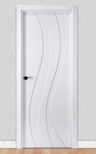 Puerta lacada en blanco Fantastic 06