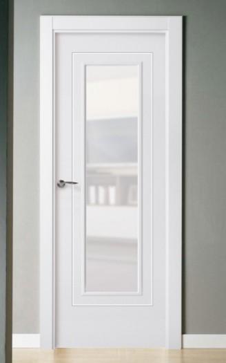 Puerta lacada en blanco Pantografic ML-2C 1v