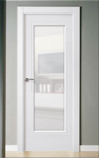 Puerta lacada en blanco Pantografic 52 VS