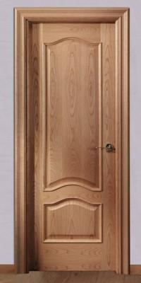 Puerta barnizada en madera Doble Provenzal TM