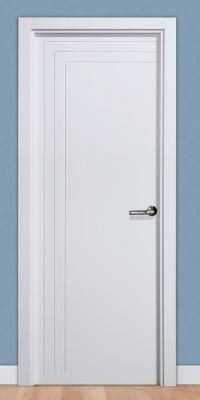 Puerta laminada en PVC Pantografic 23