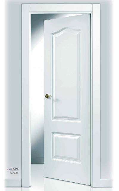 Puerta lacada en blanco sanrafael 9250ar for Precio puertas blancas