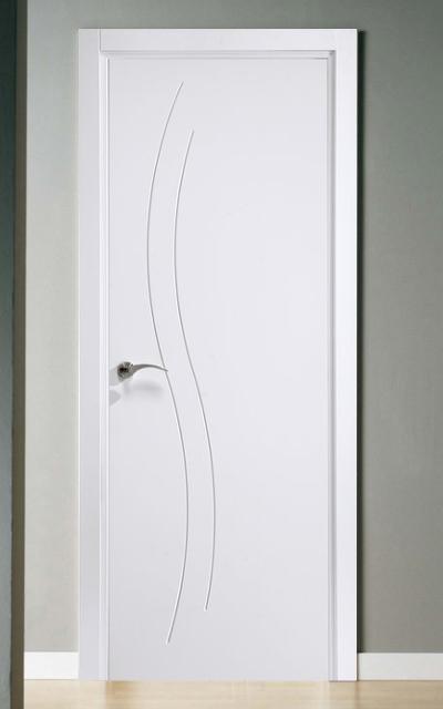 Puerta lacada en blanco fantastic 01 - Precio de puertas lacadas en blanco ...