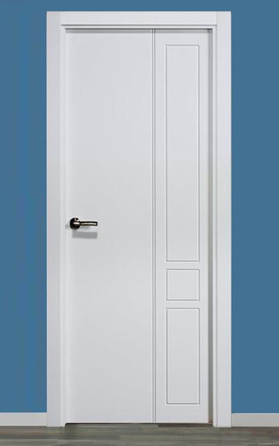 Puerta lacada en blanco pantografic 12 - Puerta lacada en blanco ...